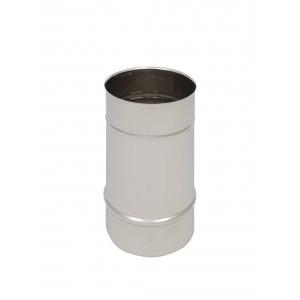 Längenelement 250 mm DN 125 einwandig Holetherm