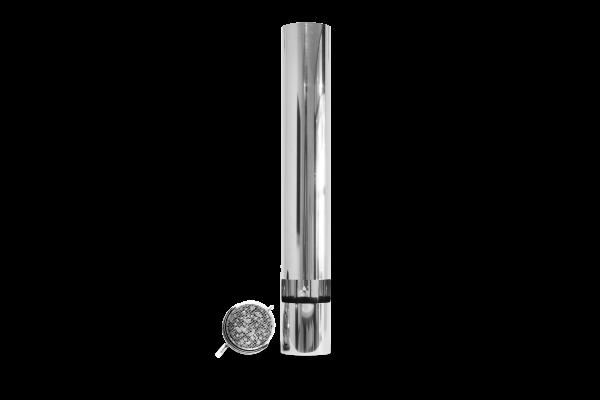 ABCAT® Holzrauchfilter Ø 180 Länge 1000 mm