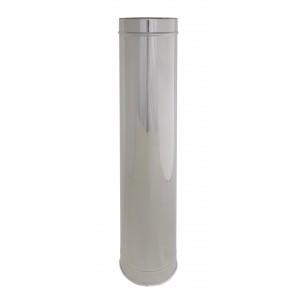 Längenelement 1000 mm DN 300/350 doppelwandig Holetherm