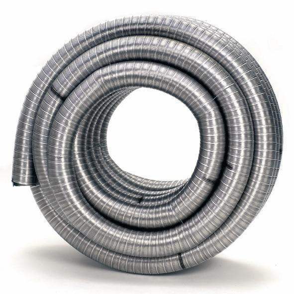 Flexibles einwandiges Rohr DN 80 - 250 mm