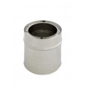 Längenelement 200 mm DN 250/300 doppelwandig Holetherm