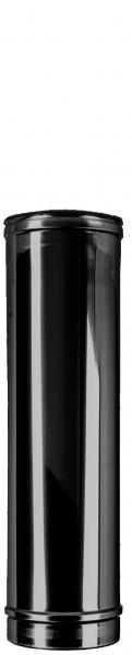 Längenelement 500 mm DN 150 doppelwandig ISOTUBE Plus schwarz