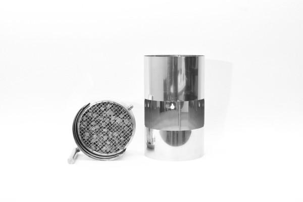 ABCAT® Holzrauchfilter Ø 200 Länge 330 mm