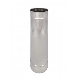 Längenelement 500 mm DN 125 einwandig Holetherm