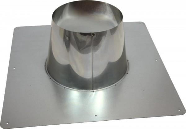 Holetherm Kamin-/ Ofenrohr Konzentrisch Dachdurchführung DN 100/150 mm edelstahl