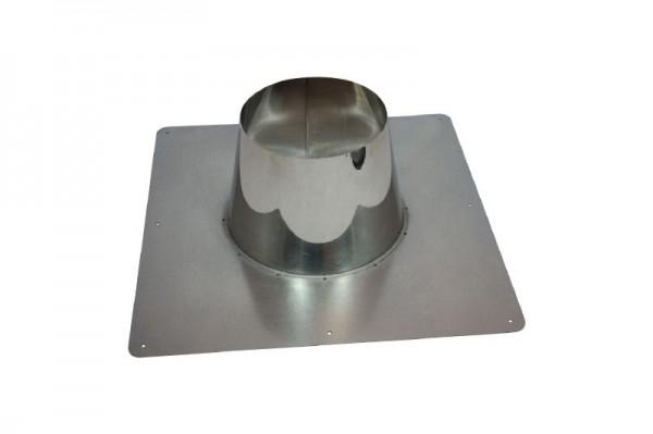 Dachdurchführung DN 150/200 0°- 10° Dachneigung Holetherm